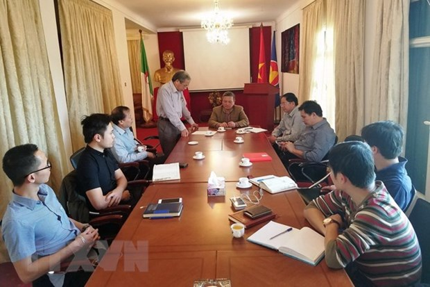 Workshop on CPV's founding, 1968 General Offensive held in Algeria hinh anh 1