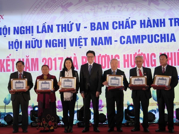 Vietnam-Cambodia Association helps tighten bilateral ties hinh anh 1