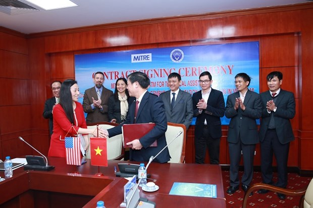 VATM signs technical cooperation deal with US corporation hinh anh 1