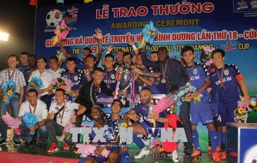 Becamex Binh Duong wins BTV Cup 2018 hinh anh 1