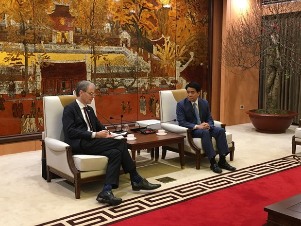 Hanoi calls for more Dutch support in smart city building hinh anh 1