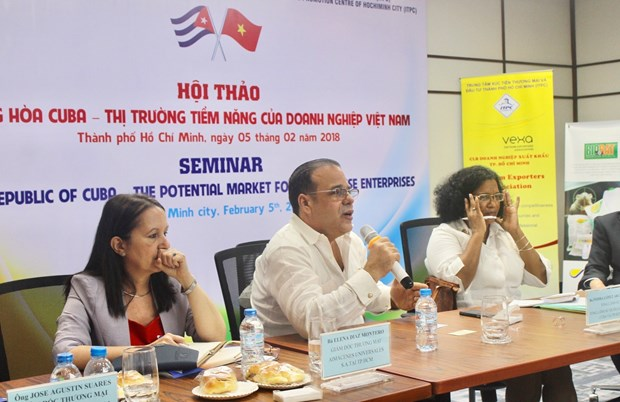 Cuba promoted as potential market for Vietnamese firms hinh anh 1