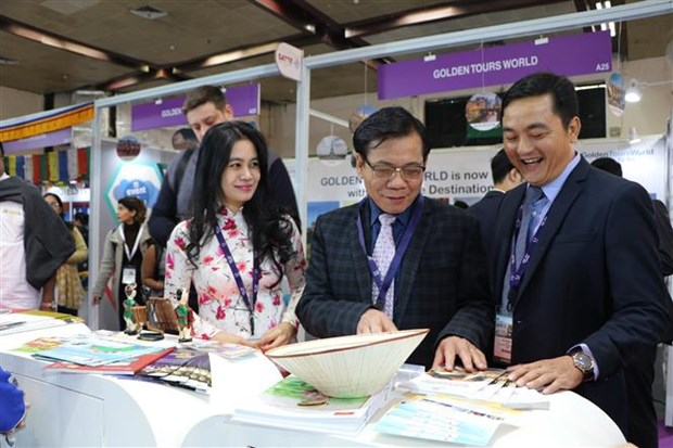 HCM City promotes itself at India's tourist fair hinh anh 1