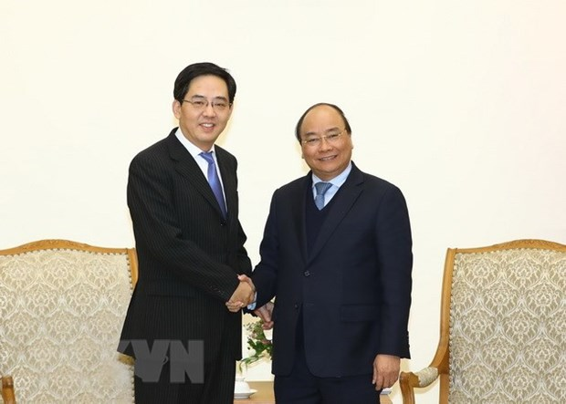 PM lauds Chinese Ambassador's contributions to bilateral ties hinh anh 1