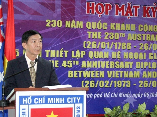 Get-together marks 45 years of Vietnam-Australia ties hinh anh 1