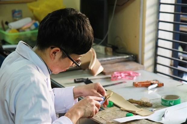 Japanese volunteer helps stroke patients hinh anh 1
