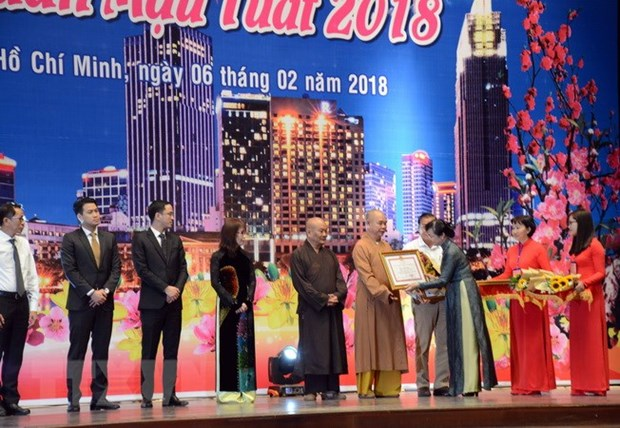 HCM City hosts Tet celebration for Overseas Vietnamese hinh anh 1