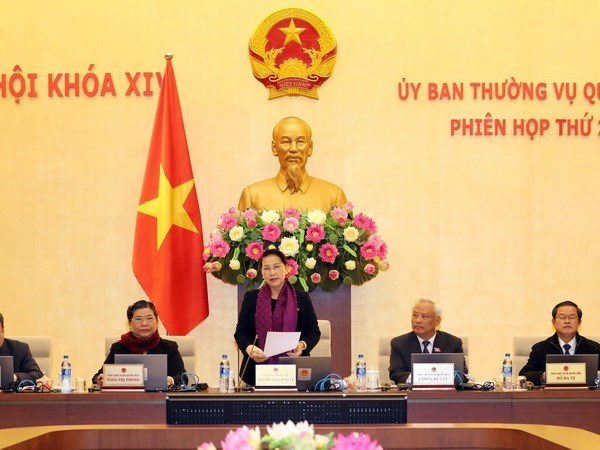 National Assembly Standing Committee opens 21st session hinh anh 1