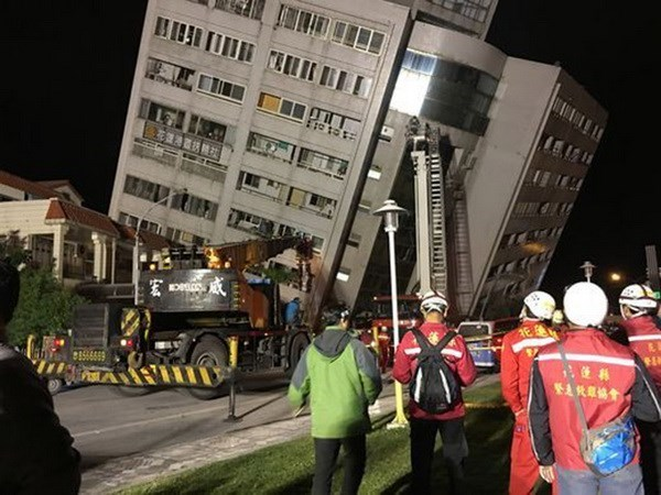 No Vietnamese victims reported in Taiwan earthquake hinh anh 1