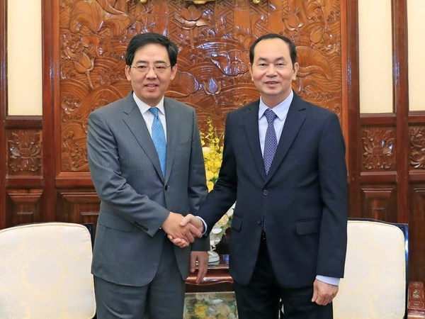Chinese Ambassador says goodbye to State leader hinh anh 1