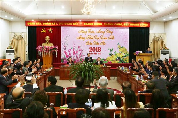Overseas Vietnamese honoured for contributions to homeland hinh anh 1