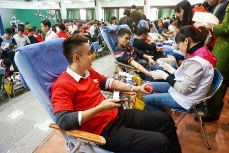 Blood bank stores 16,000 units, sufficient for Tet hinh anh 1
