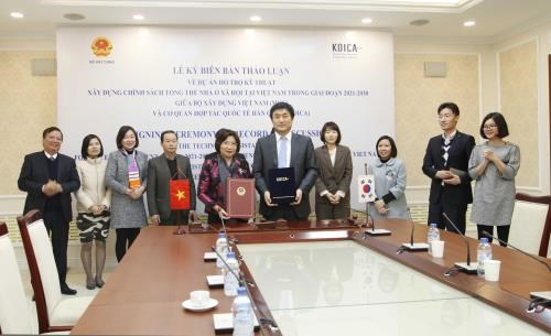 KOICA helps Vietnam build social housing policy hinh anh 1