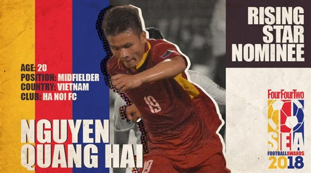 Vietnamese players nominated for ASEAN football awards hinh anh 1