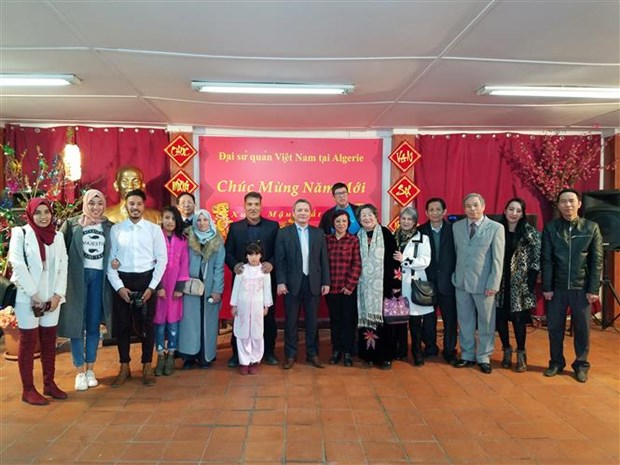 Vietnamese community in Algeria celebrates Lunar New Year hinh anh 1