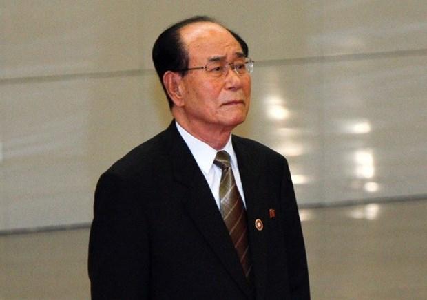 DPRK's high-level delegation arrives in RoK hinh anh 1
