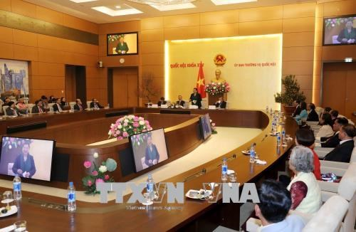 Vice NA Chairwoman meets OV teachers from Thailand hinh anh 1