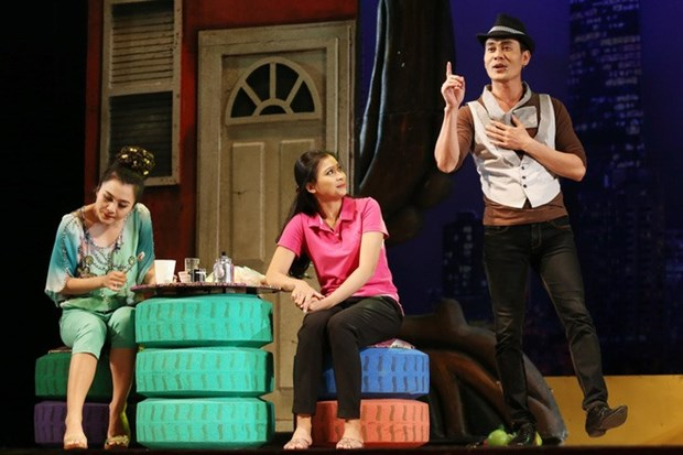 HCM City theatres stage new shows for Tet hinh anh 1
