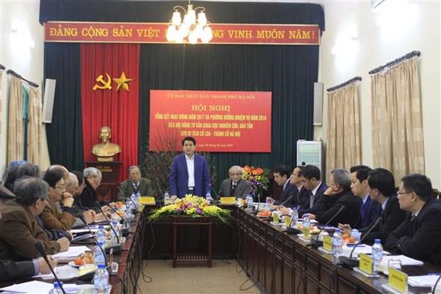 Hanoi enhances preservation of Co Loa relic site hinh anh 1