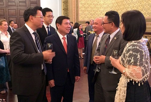 HCM City: Authorities appreciate contributions of int'l agencies hinh anh 1