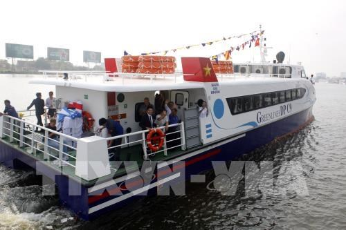 High-speed boat service opens on HCM City-Can Gio-Vung Tau route hinh anh 1