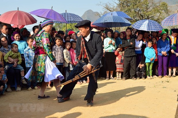 Festivals to spotlight H'mong culture, peach blossoms in Ha Giang hinh anh 1