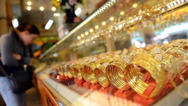 Gold prices rise significantly before Tet hinh anh 1