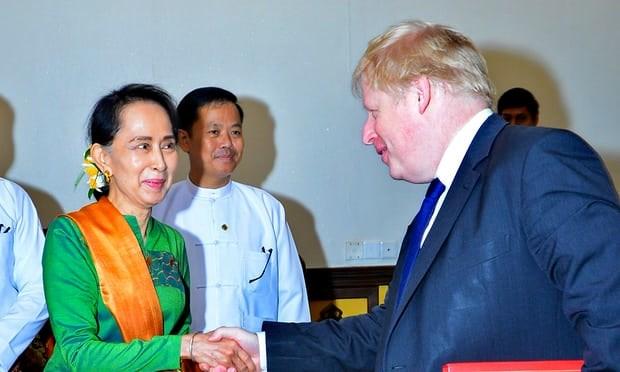Myanmar, UK discuss Rohingya crisis hinh anh 1