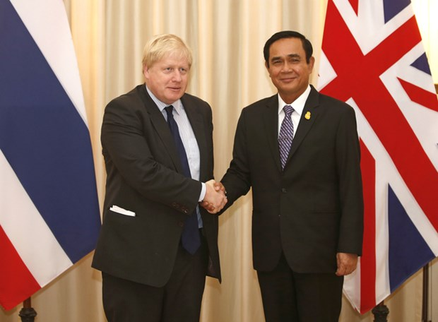 UK Foreign Secretary visits Thailand hinh anh 1