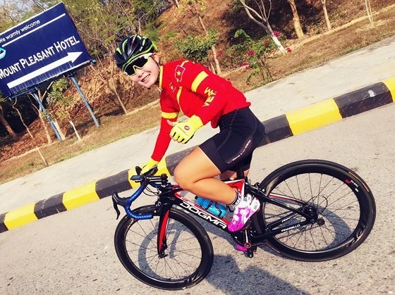 One more bronze for Vietnam at Asian cycling event hinh anh 1