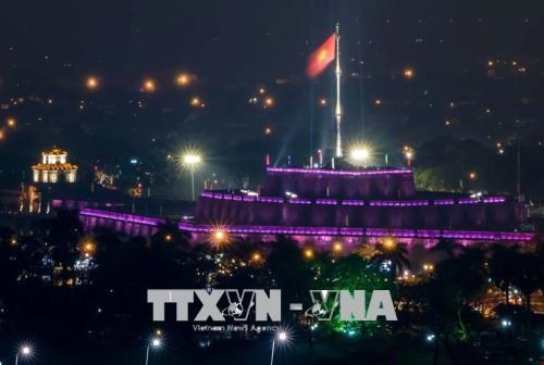Vietravel-funded project lights up Hue's Flag Tower hinh anh 1