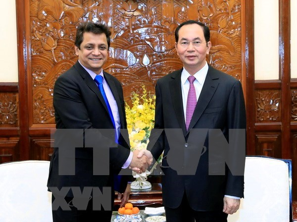 President calls on Indian firms to do business in Vietnam hinh anh 1