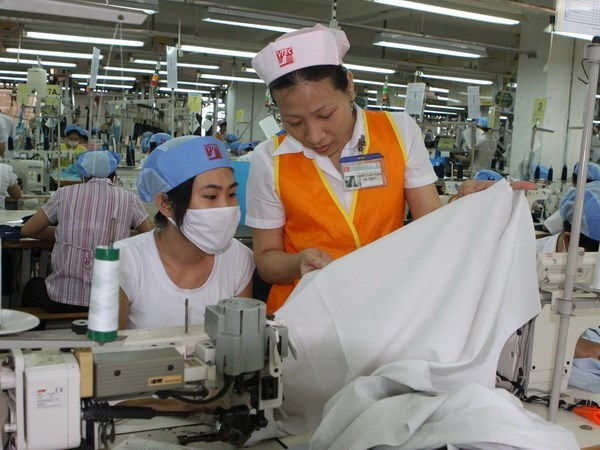 Viet Tien garment firm targets one billion USD in exports by 2020 hinh anh 1