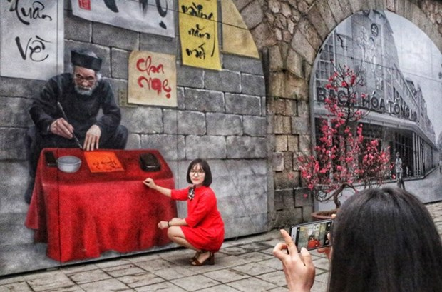 Vault murals officially inaugurated hinh anh 1