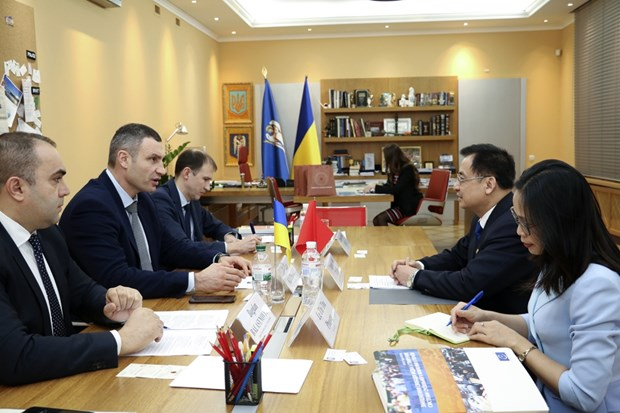 Ambassador seeks stronger relations between Hanoi and Kiev hinh anh 1