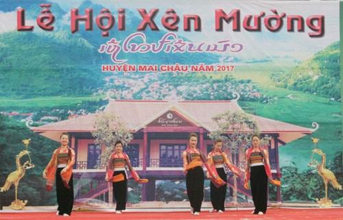 Xen Muong festival highlights Thai customs in Hoa Binh hinh anh 1
