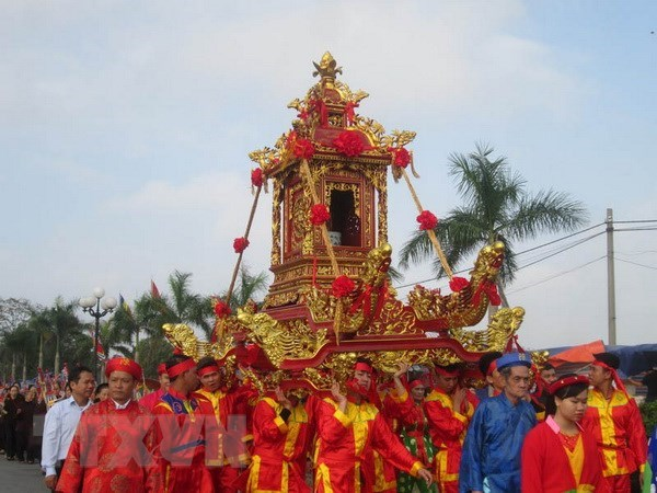Festival dedicated to Mountain God listed as national heritage hinh anh 1
