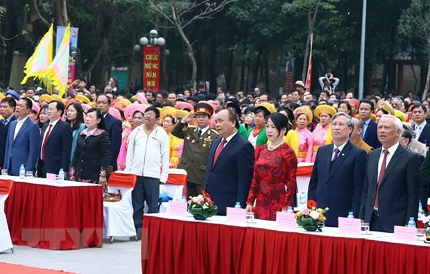 PM attends festival marking Ngoc Hoi-Dong Da victory hinh anh 1