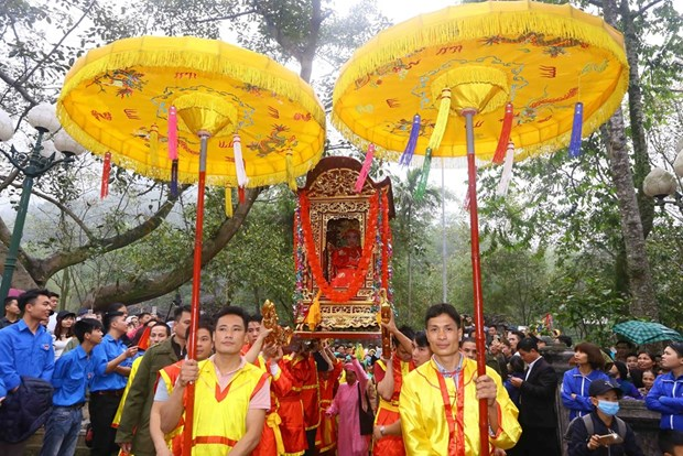 Numerous festivals kick off amid Tet atmosphere hinh anh 4