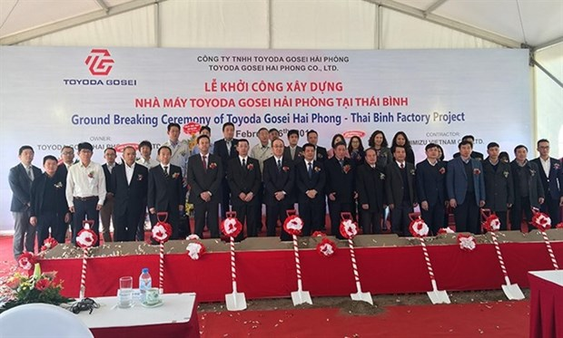 Japanese group builds auto parts factory in Thai Binh hinh anh 1