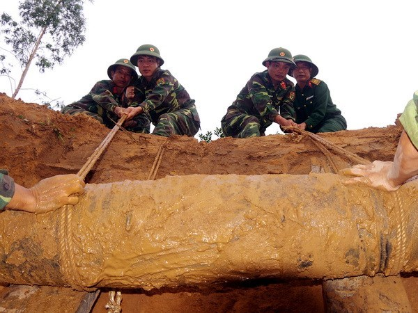 Permanent office of UXO steering committee set up hinh anh 1