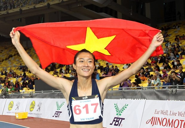 Sprint queen Le Tu Chinh to train in US hinh anh 1