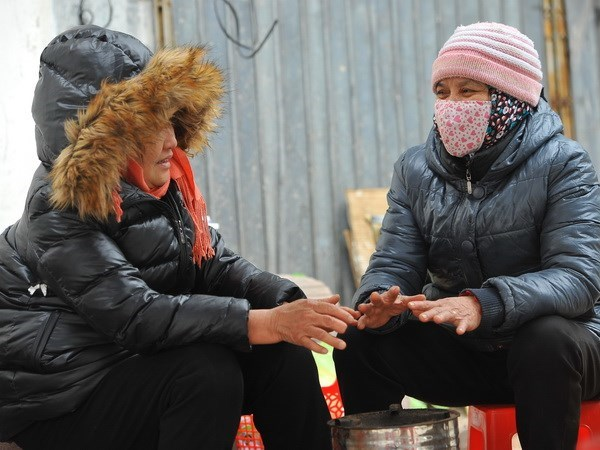 North Vietnam welcomes new cold spell hinh anh 1