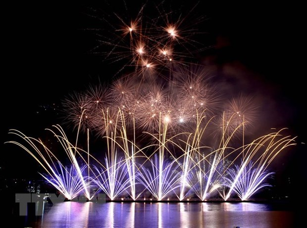 Da Nang int'l fireworks fest to kick off on April 30 hinh anh 1