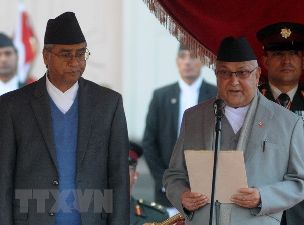 Congratulation to new Nepalese Prime Minister hinh anh 1