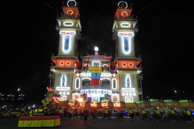 Cao Dai Tay Ninh Church holds Duc Chi Ton ceremony hinh anh 1