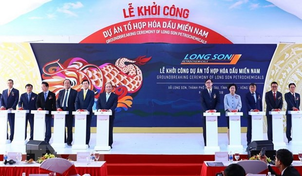 Construction starts on Vietnam's first petrochemical complex hinh anh 1