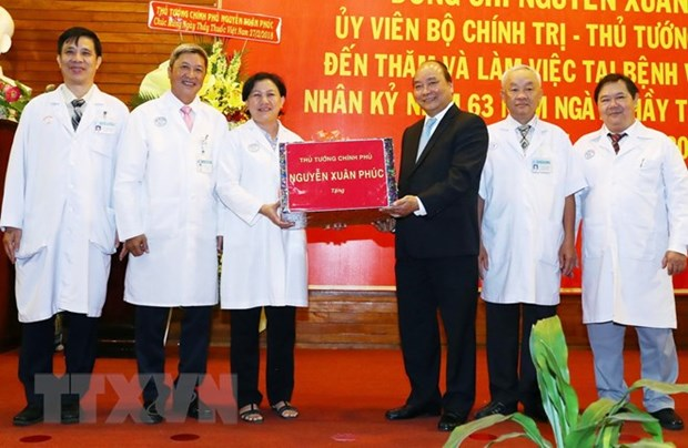 Prime Minister hails Cho Ray Hospital's achievements hinh anh 1