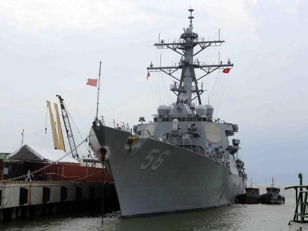 US naval ships to visit Da Nang hinh anh 1