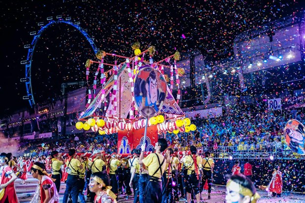 Vietnam joins Asia's largest street festival in Singapore hinh anh 1